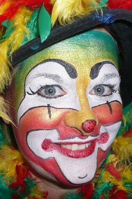 Creaviev clown stap 7