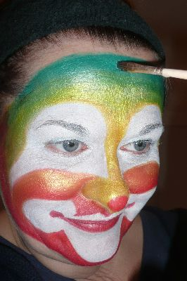 Creaviev clown stap 5